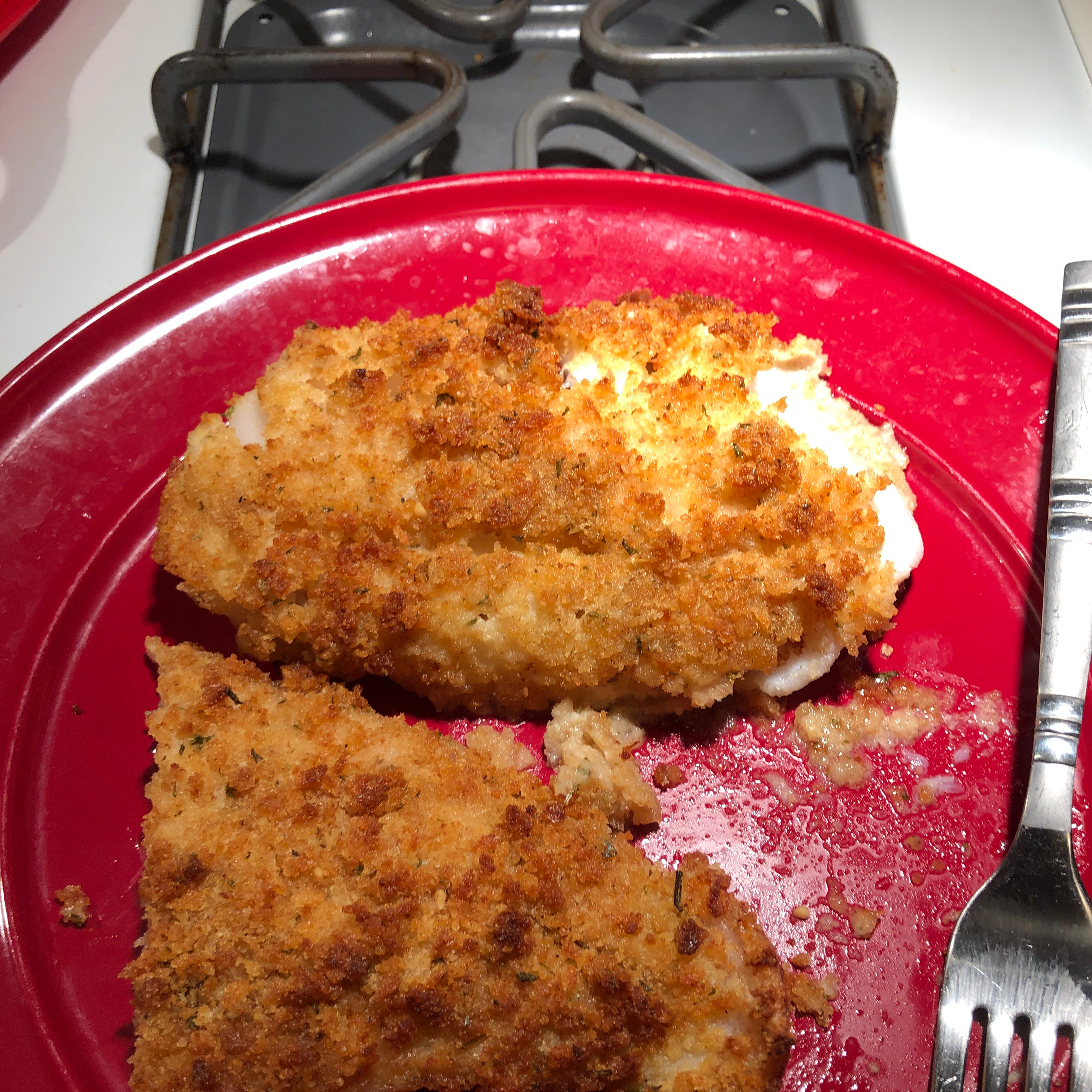 Air-Fried Crumbed Fish James Rosell