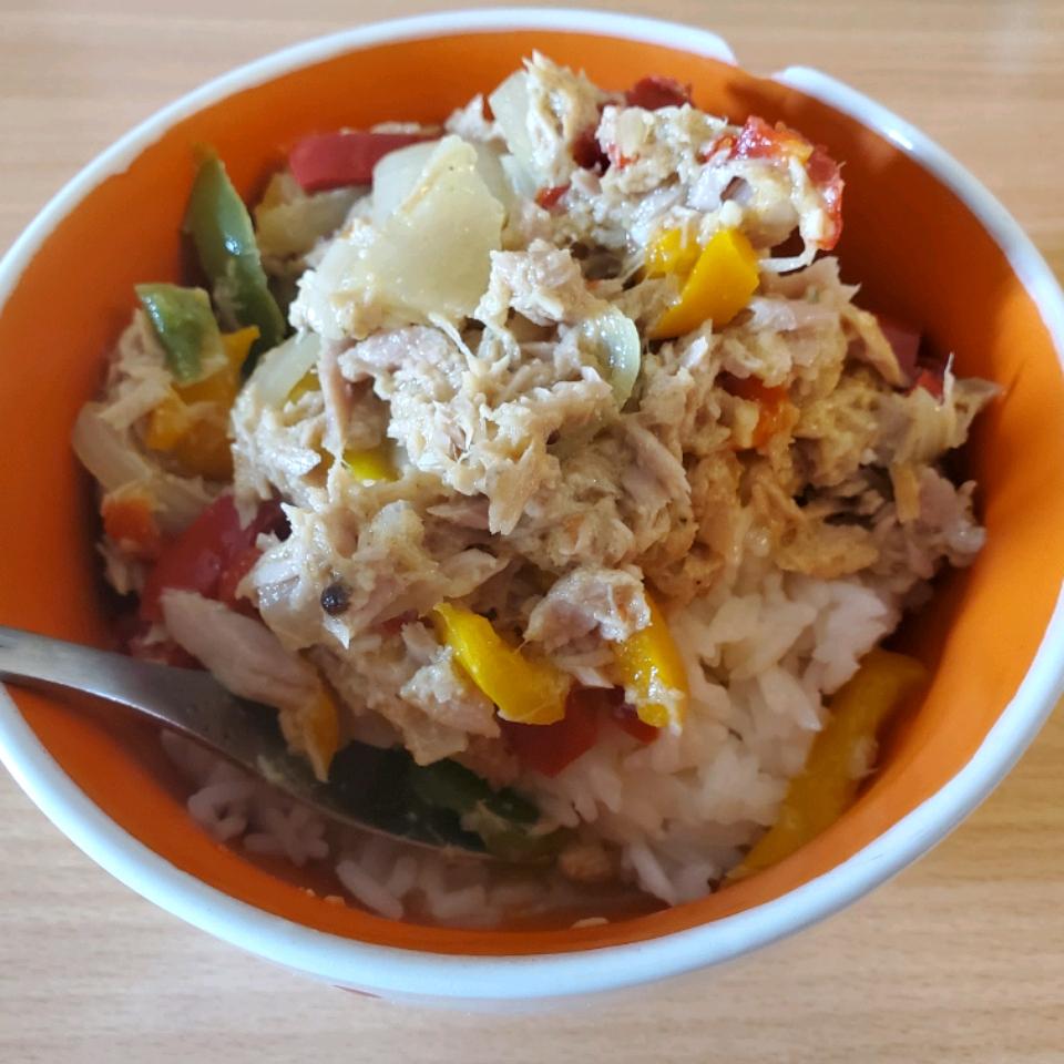 Tuna Curry in a Hurry