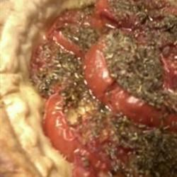 Tarte aux Moutarde (French Tomato and Mustard Pie) Deborah Norris