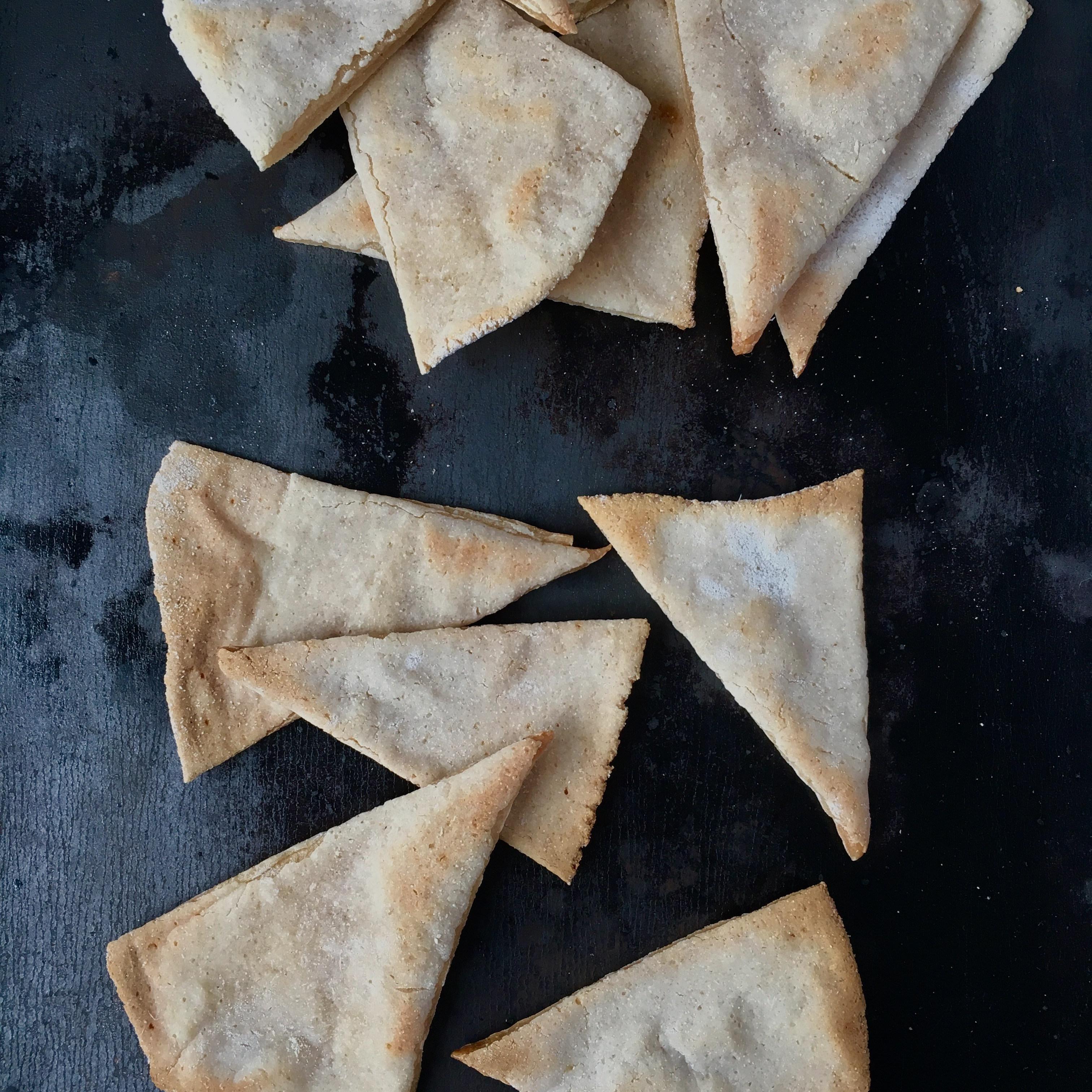 Cassava Flour Pita Chips