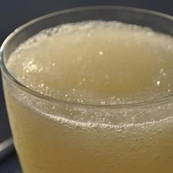 Lemon Whiskey Slush