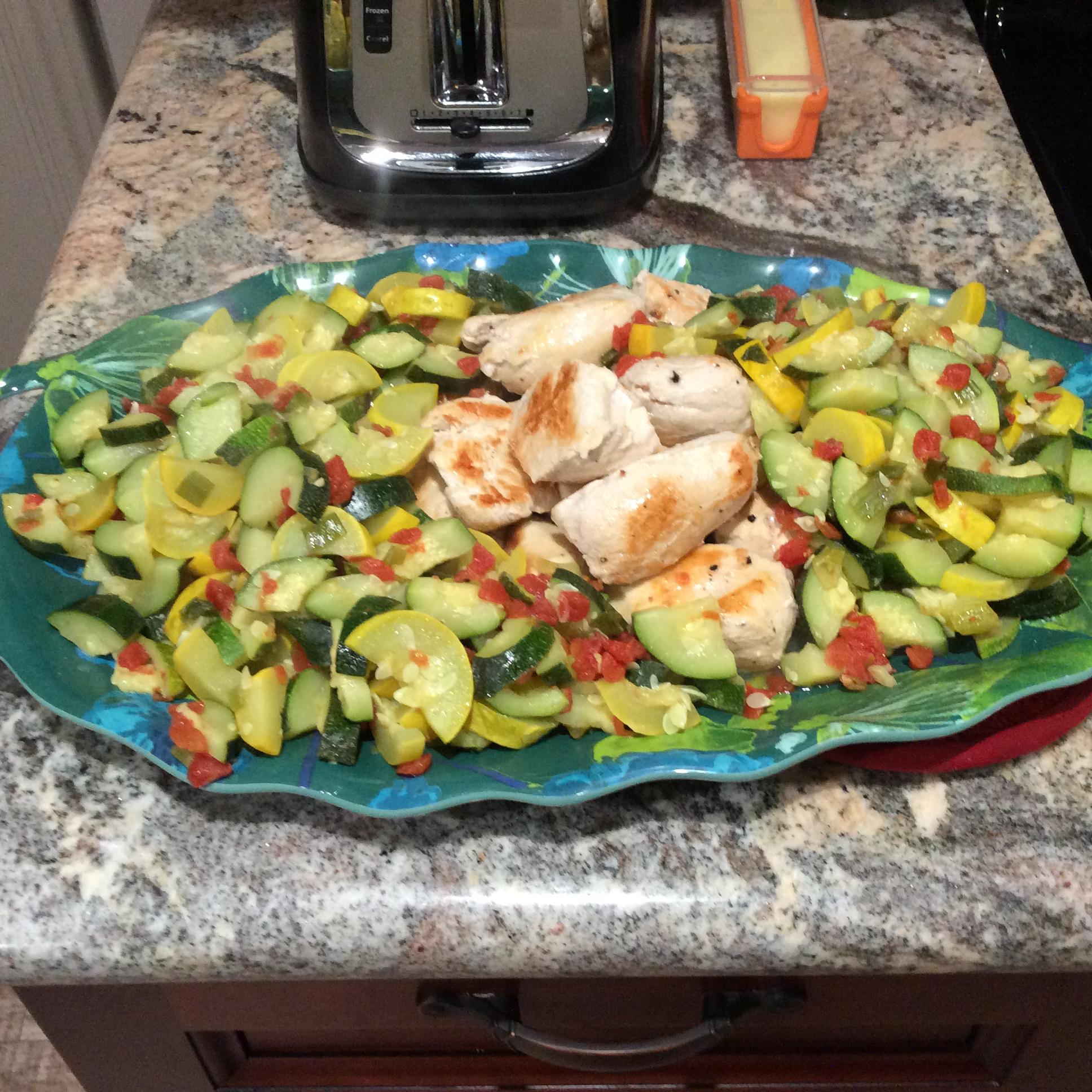 Chicken and Summer Squash