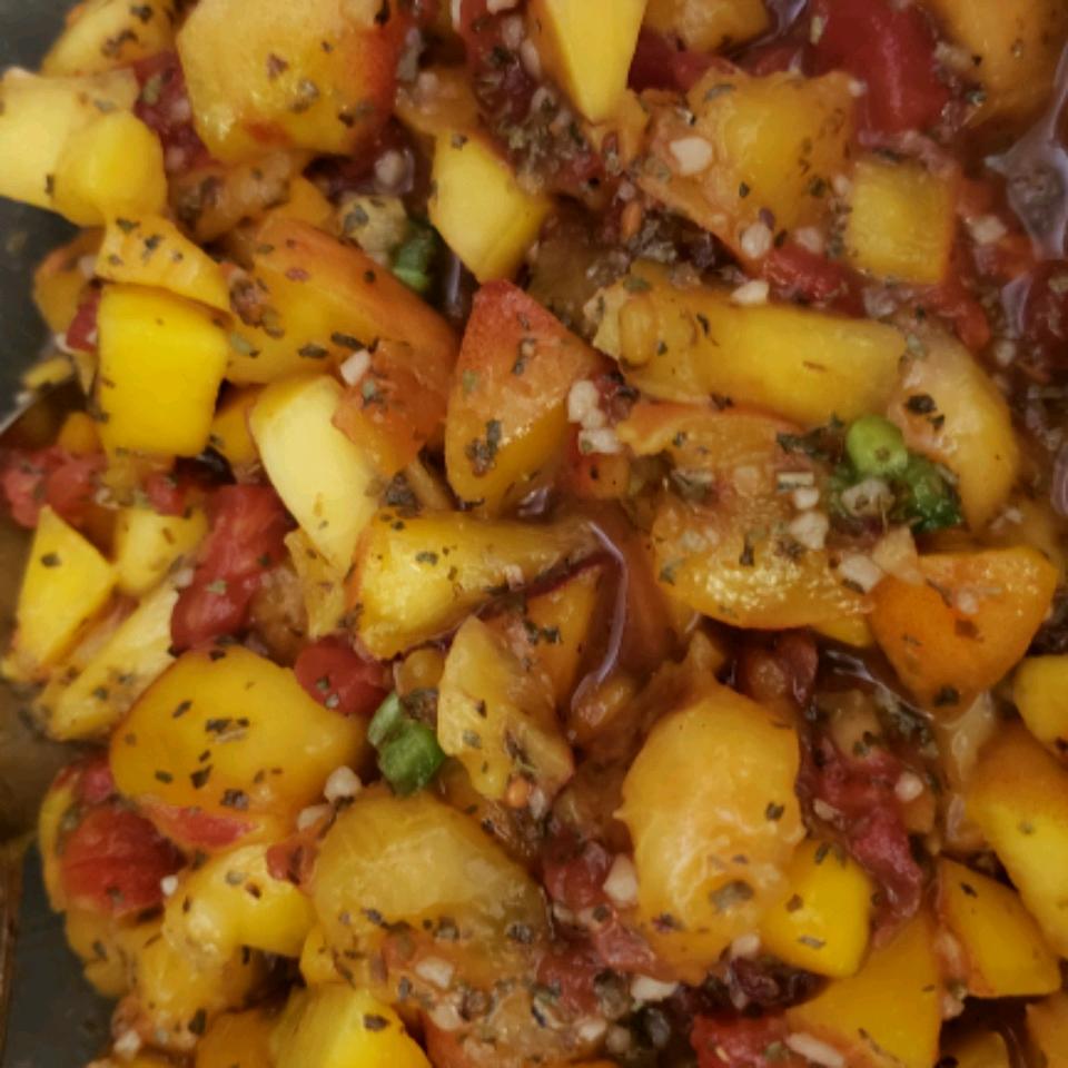 Spicy Mango Salsa Lynda Peirce