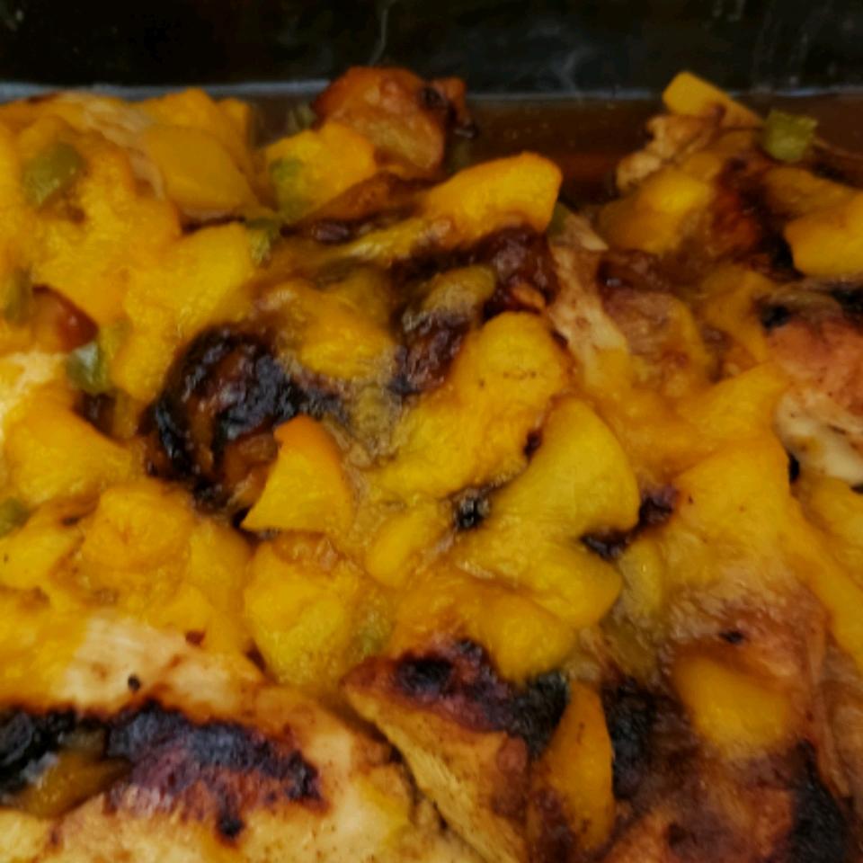Jalapeno Peach Chicken Lynda Peirce