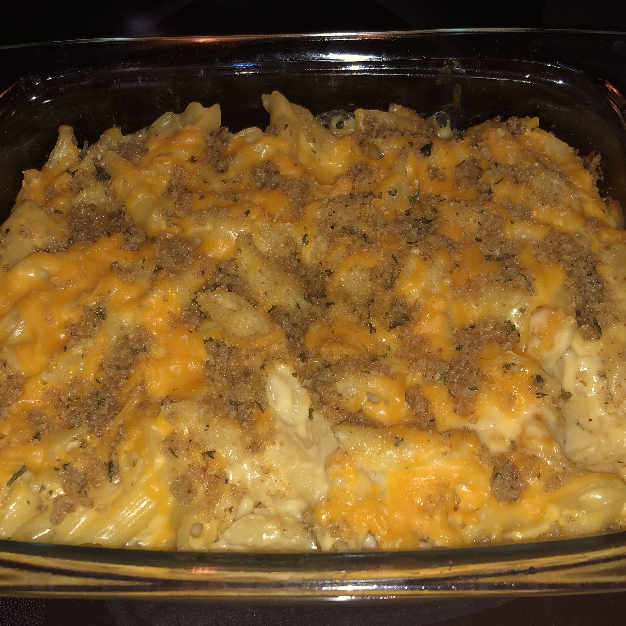 VELVEETA® Down-Home Macaroni and Cheese Steelersmama