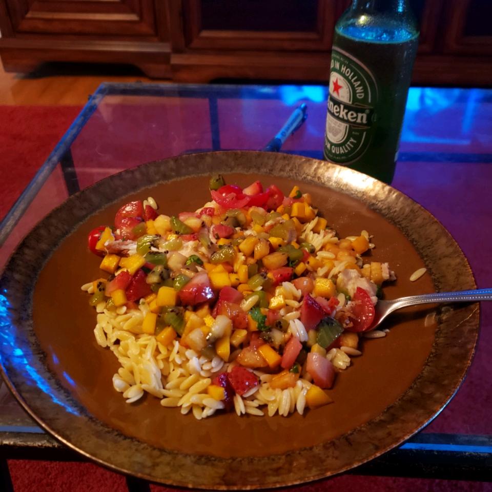 LaWanna's Mango Salsa on Tilapia Fillets Joseph Mack