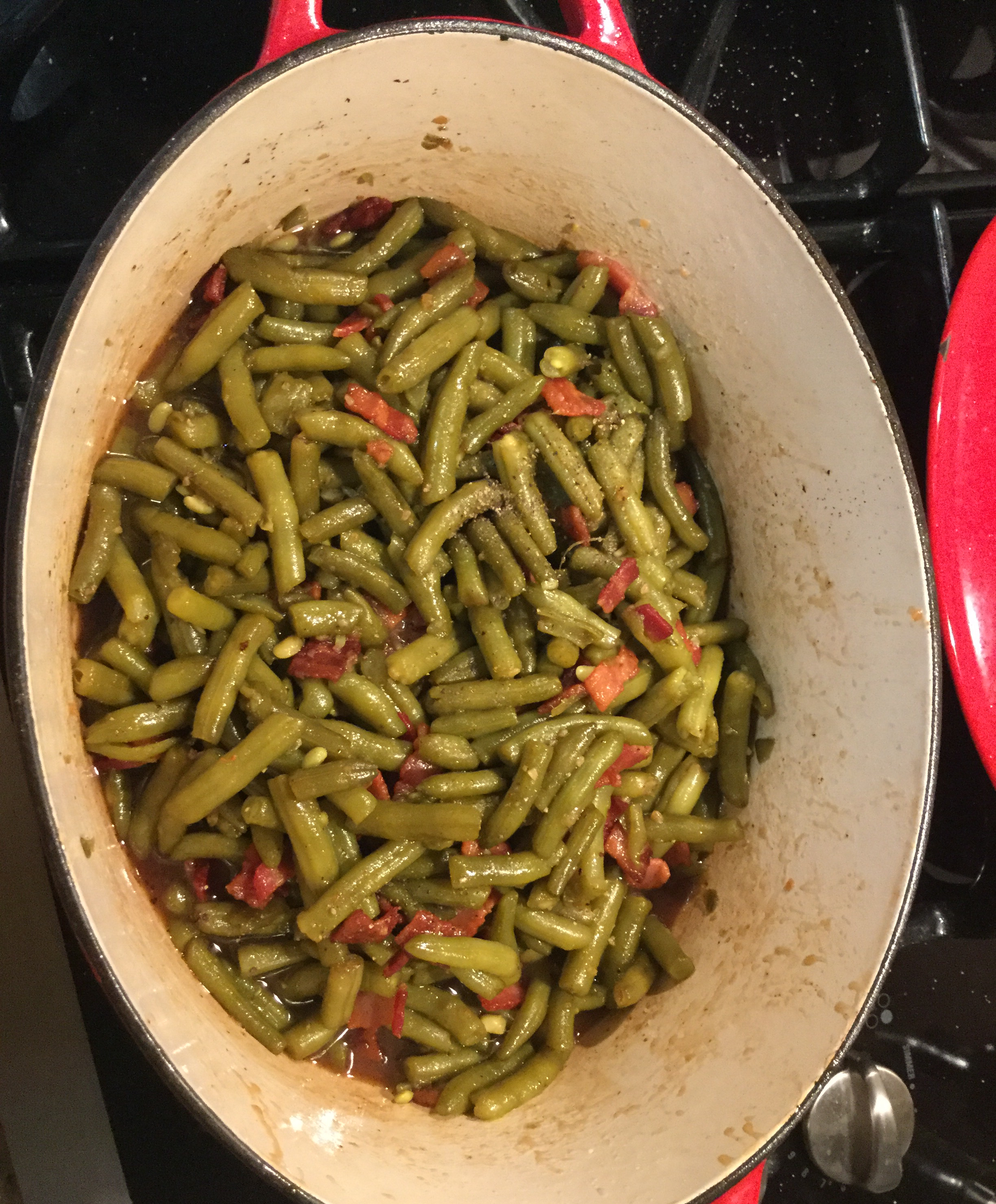 Sweet and Sour Green Beans with Bacon Christopher Sloan Frazer