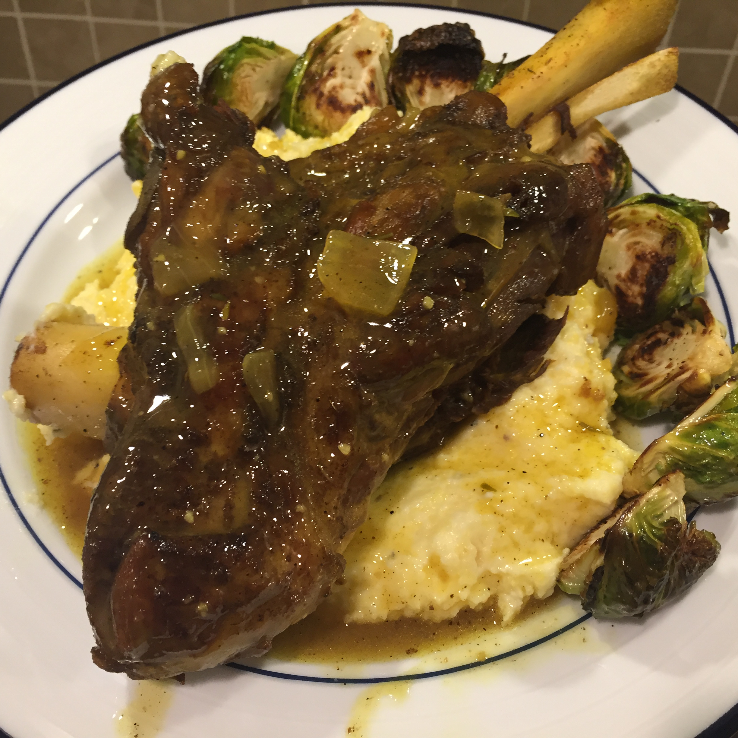 Flavorful Persian Braised Lamb Shanks
