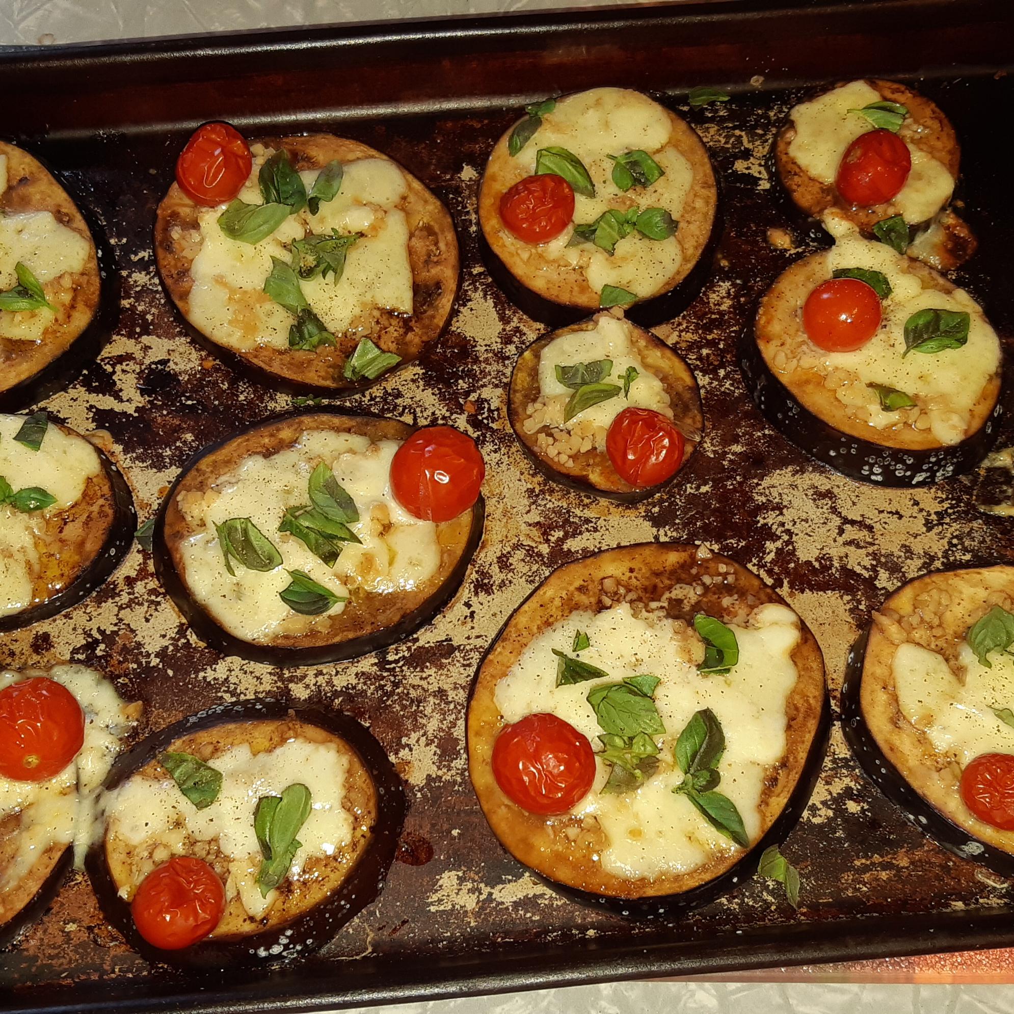 Eggplant with Feta Cheese marthacook