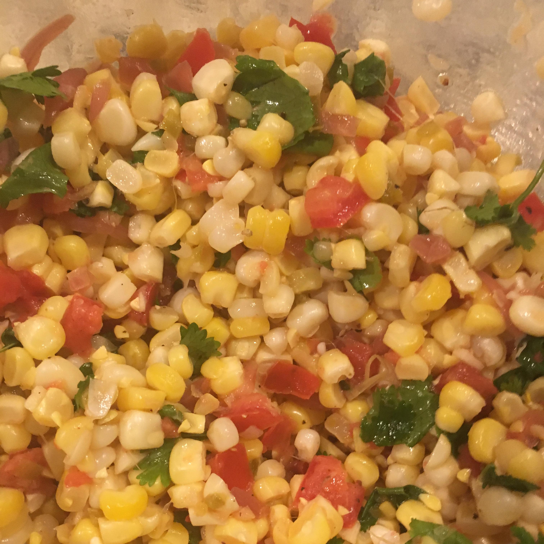 Cilantro Tomato Corn Salad Kristi Kaminski Vandergriff
