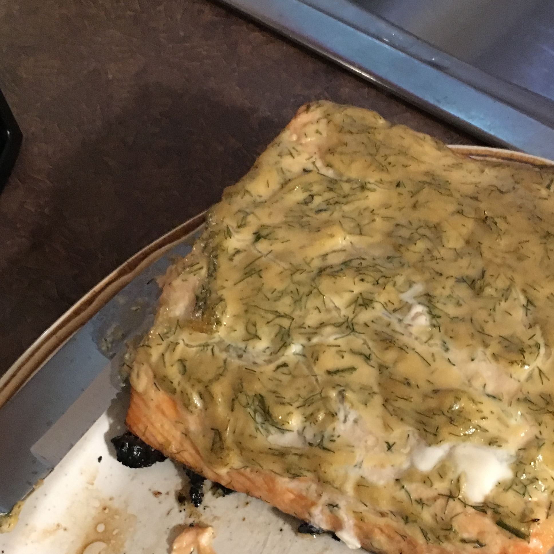Grilled Salmon with Dill Sauce Jenn Start
