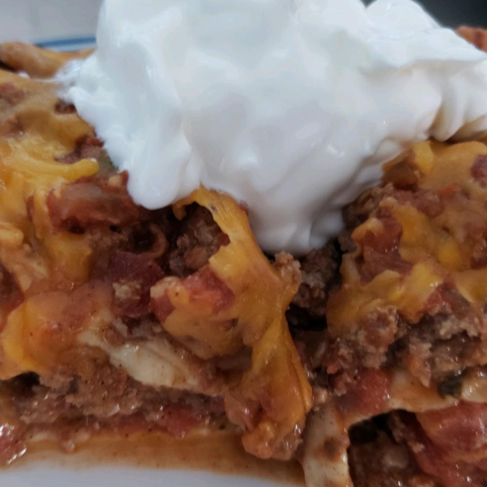 Mexican Lasagna Mitzi Carlock