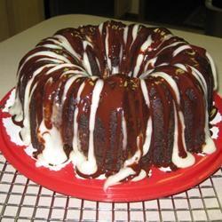 Fudgy Cream Cheese Tunnel Cake
