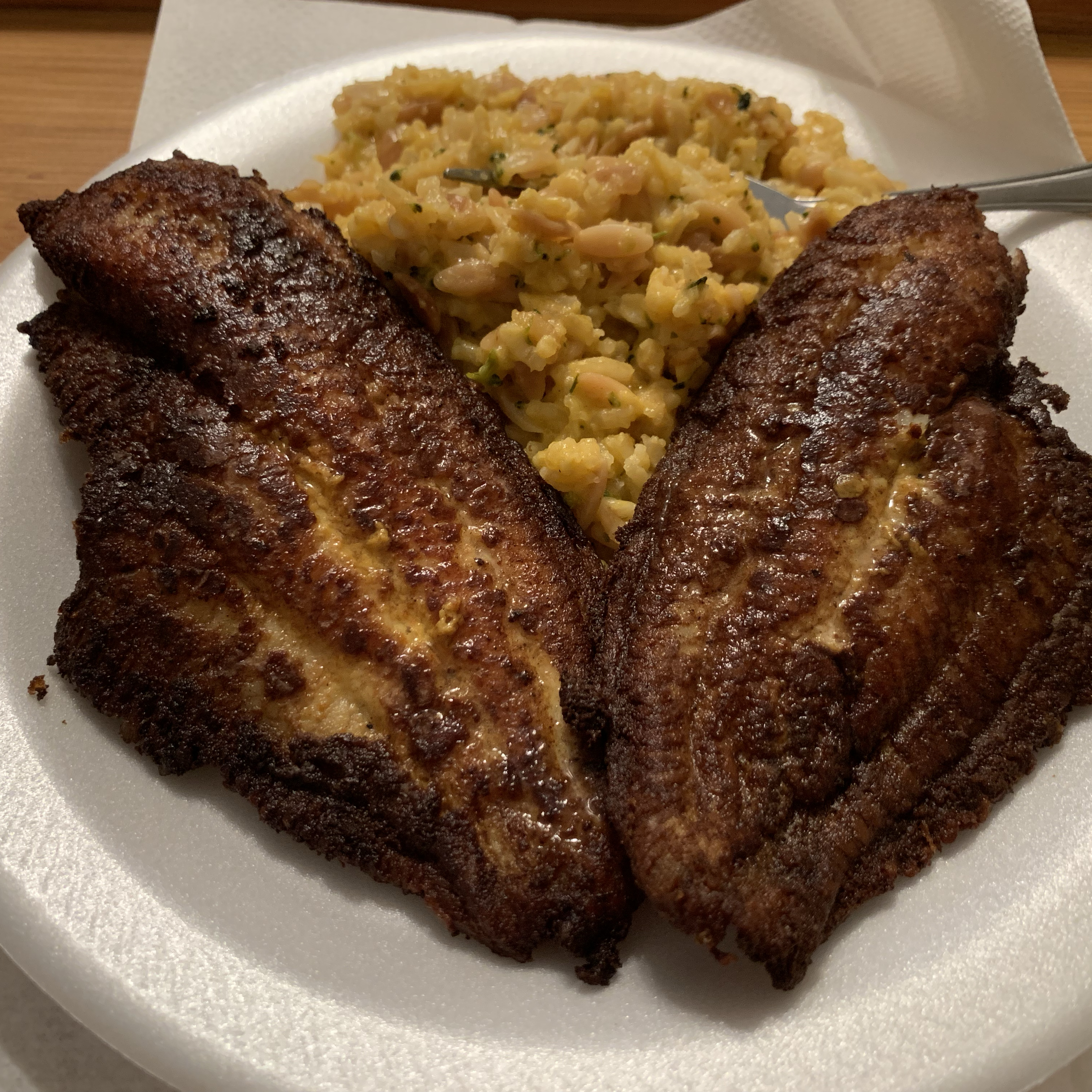 Seared Catfish Creole Mochapunch