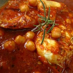 Italian Chicken and Chickpeas pomplemousse