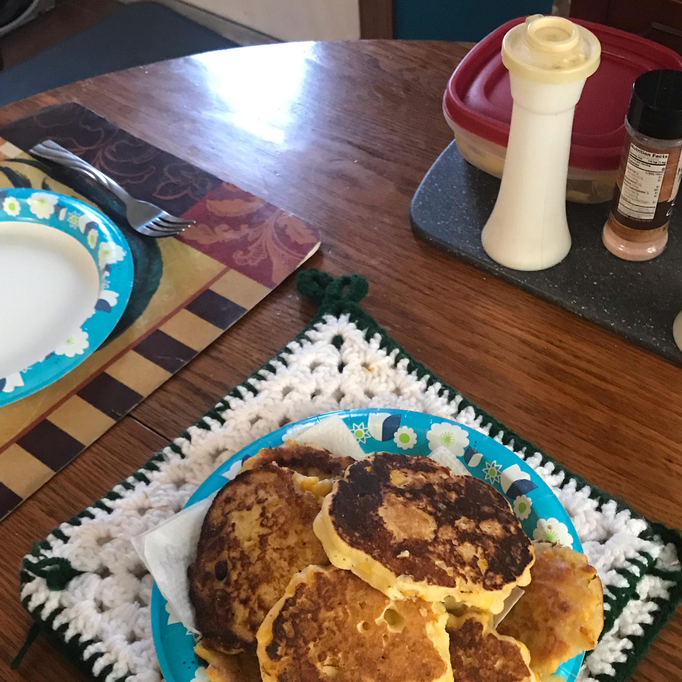 Corn Fritter Pancakes marsha