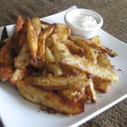 Oven Fresh Seasoned Potato Wedges Julie Martin