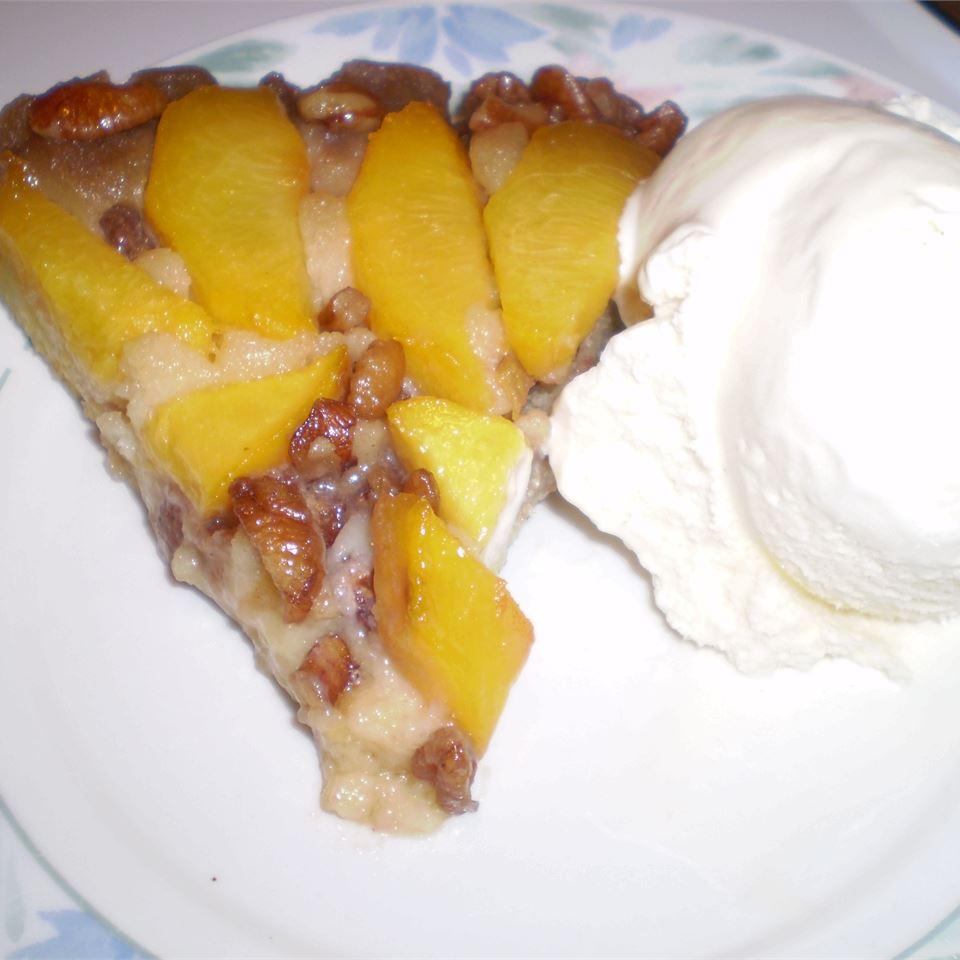 Peach Amaretto Upside-Down Cake Alex