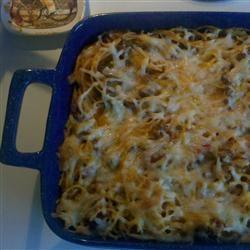Basic Baked Spaghetti Kenzie