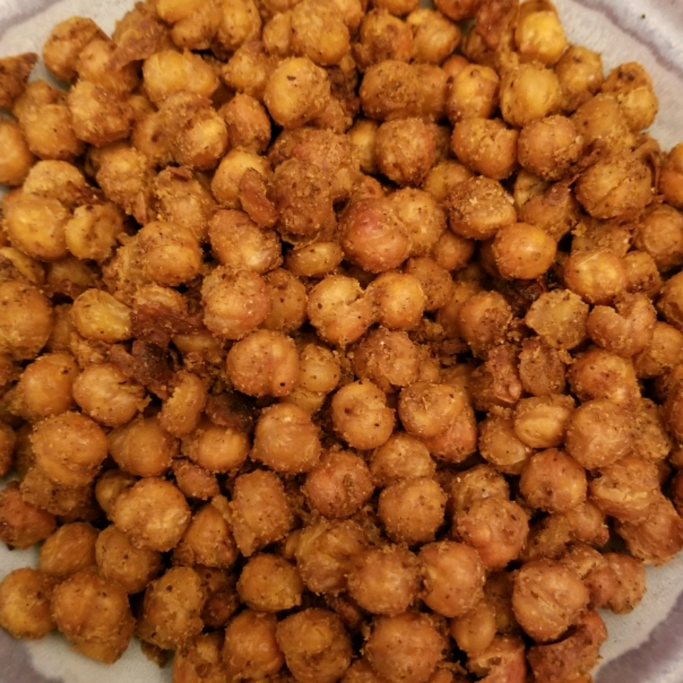 Nacho-Flavored Roasted Chickpeas Holly Baker