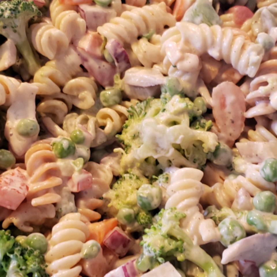 Hope's Colorful Pasta Salad Cheryl Dumcum