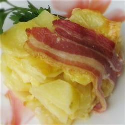 Bacon, Potato and Cheese Tart Petrovna