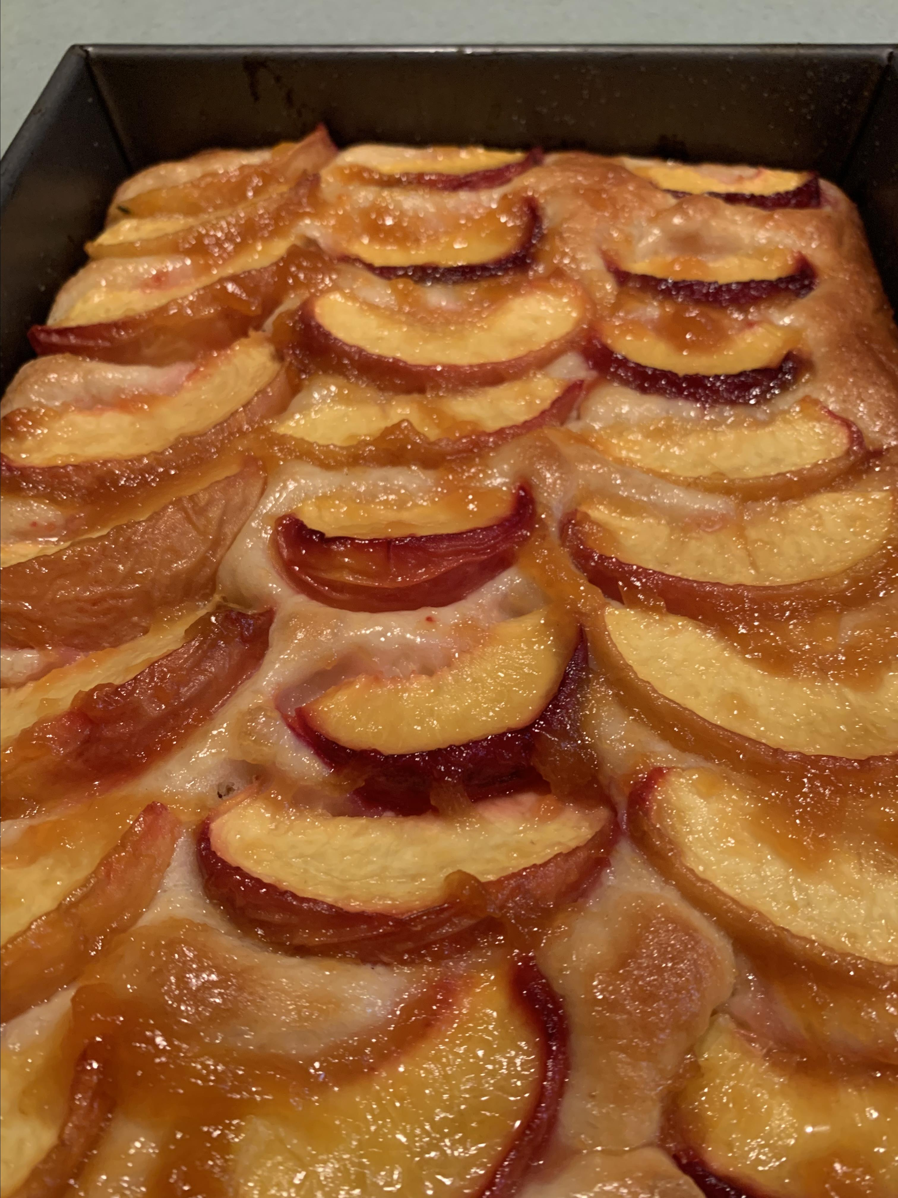 Baltimore Peach Cake David Billings