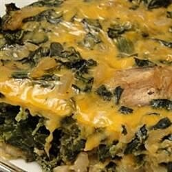 easy spinach casserole recipe