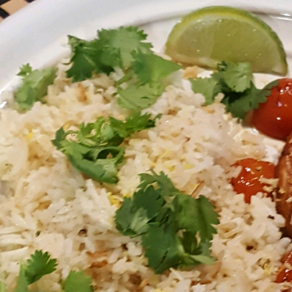 Coconut Lime Rice Dave Thompson