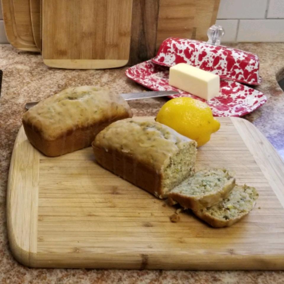 Lemon Pistachio Zucchini Bread Melissa McConnell