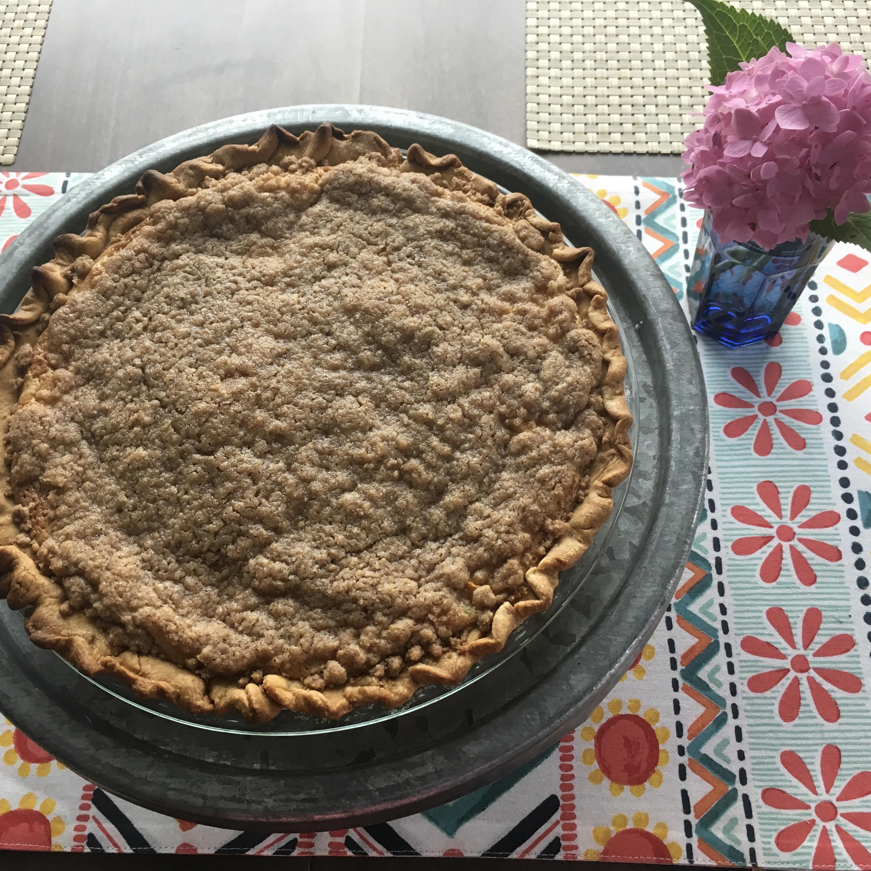 Old-Fashioned Peach Cream Pie