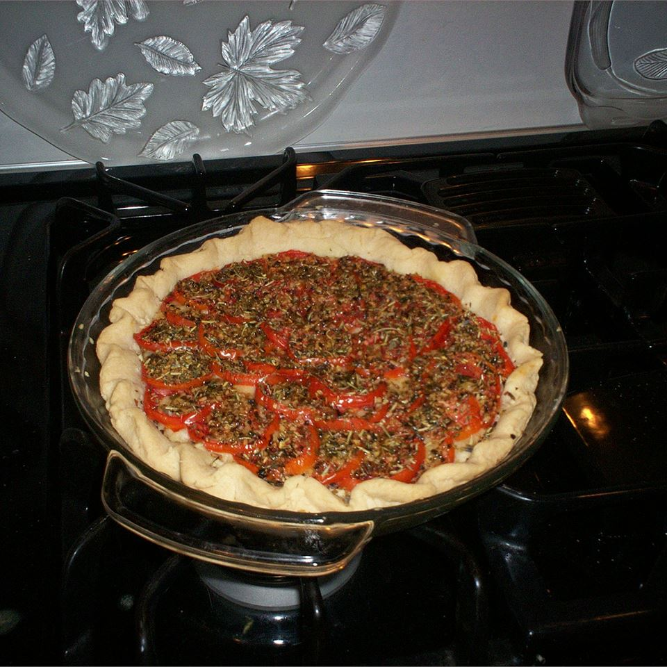 Tarte aux Moutarde (French Tomato and Mustard Pie)