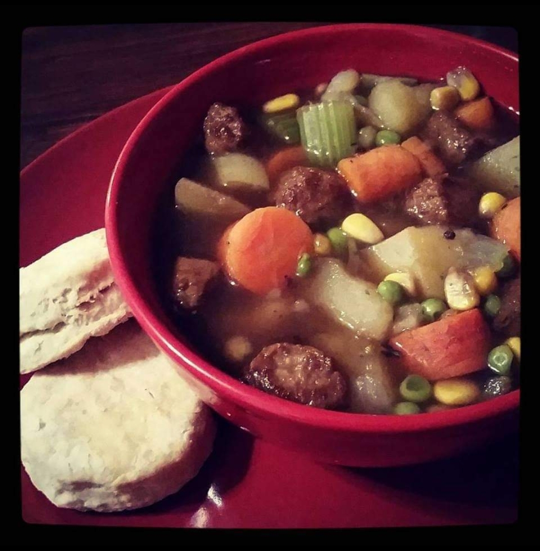 Vegan Beefless Stew