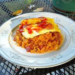 Omuraisu (Japanese Rice Omelet) John H Reiher