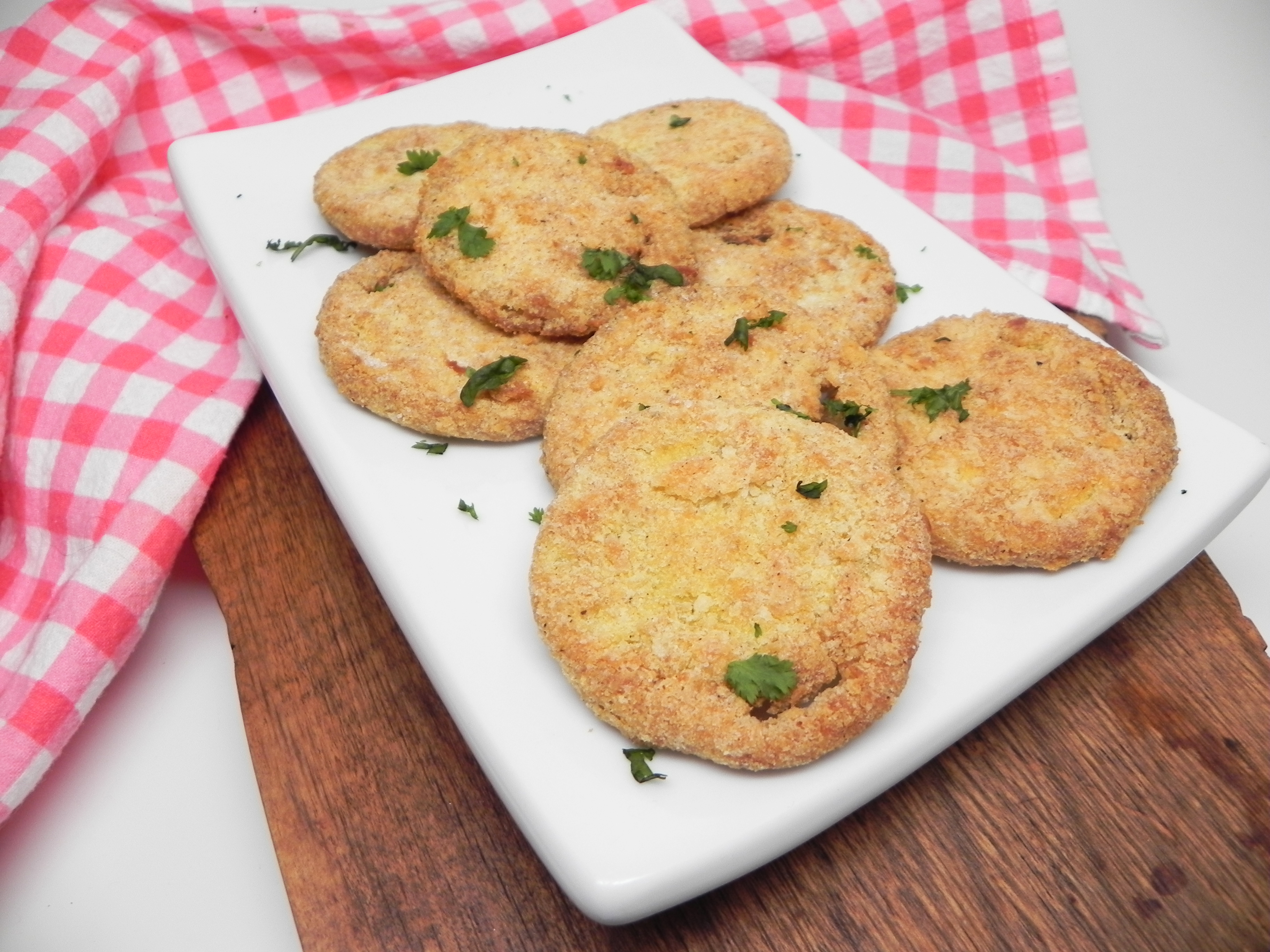 Fried Green Tomatoes in the Air Fryer