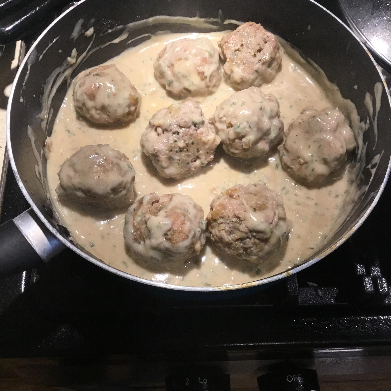 Turkey Swedish Meatballs Callie Skene