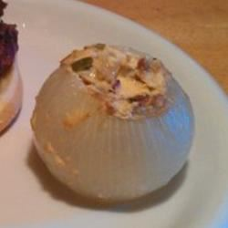 Stuffed Grilled Onions