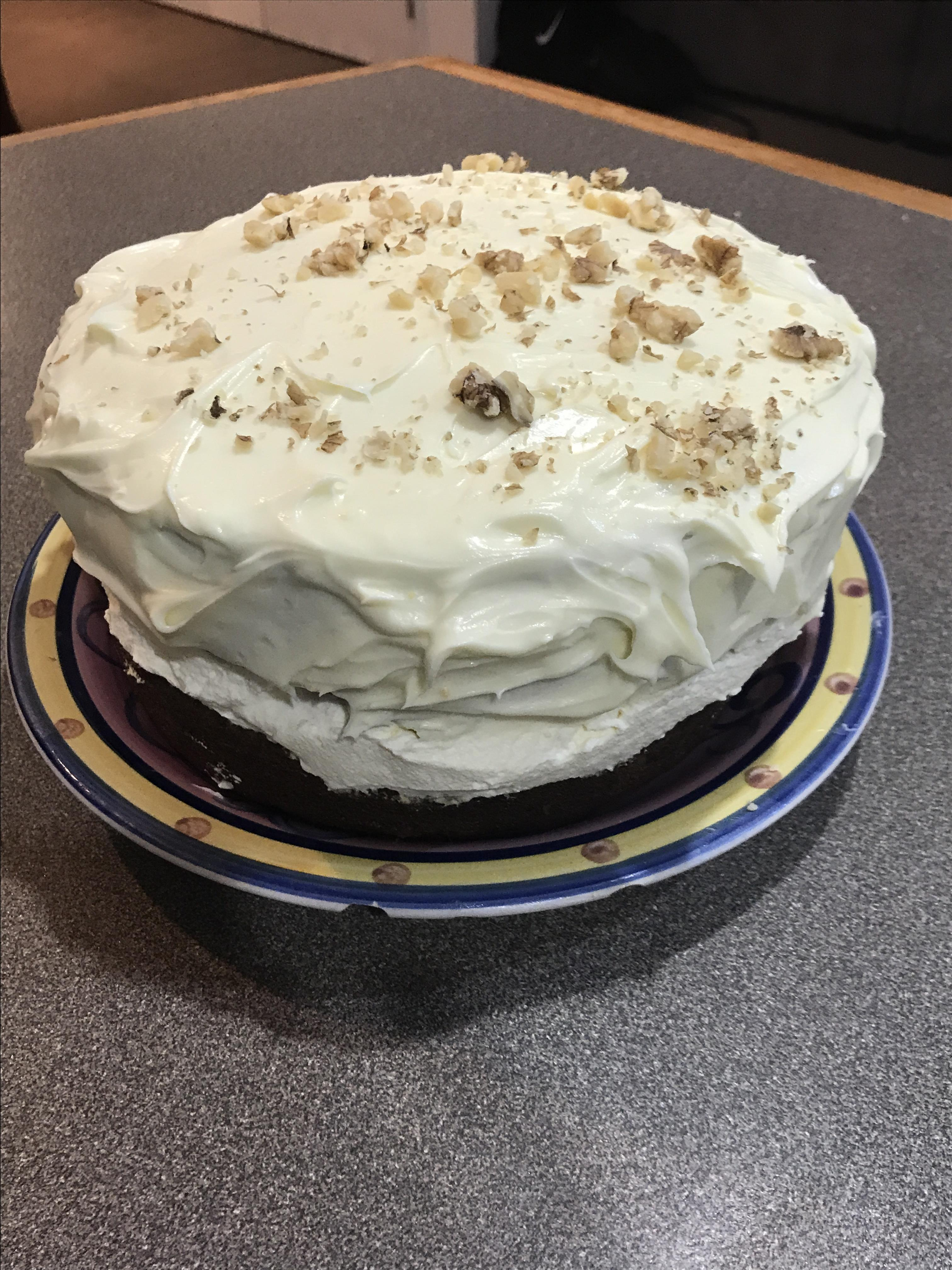 Carrot Cake with PHILLY Cream Cheese Icing