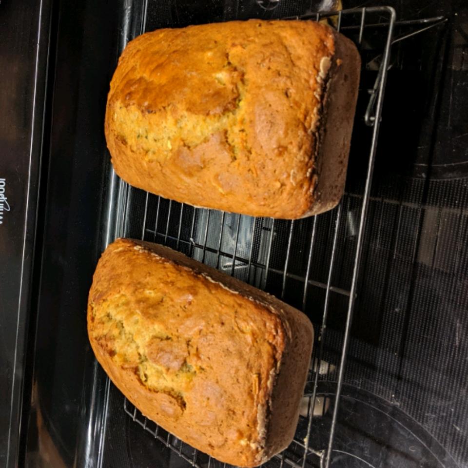 Zucchini Pineapple Bread I