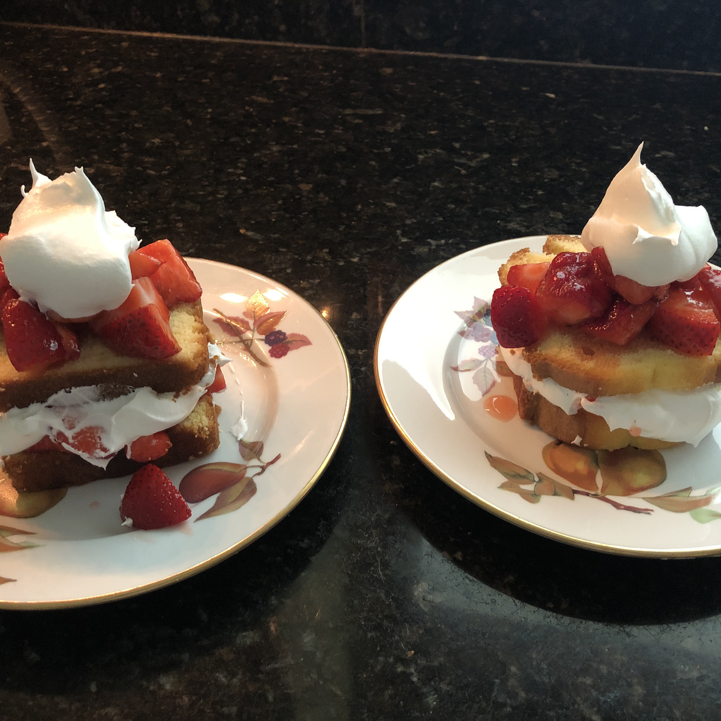 Short Cut Strawberry Short Cakes Jack Conroy
