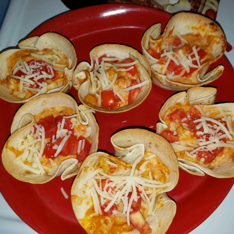 Mini Cheesy Chicken Enchiladas