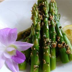 Lemon-Sesame Asparagus OkinawanPrincess