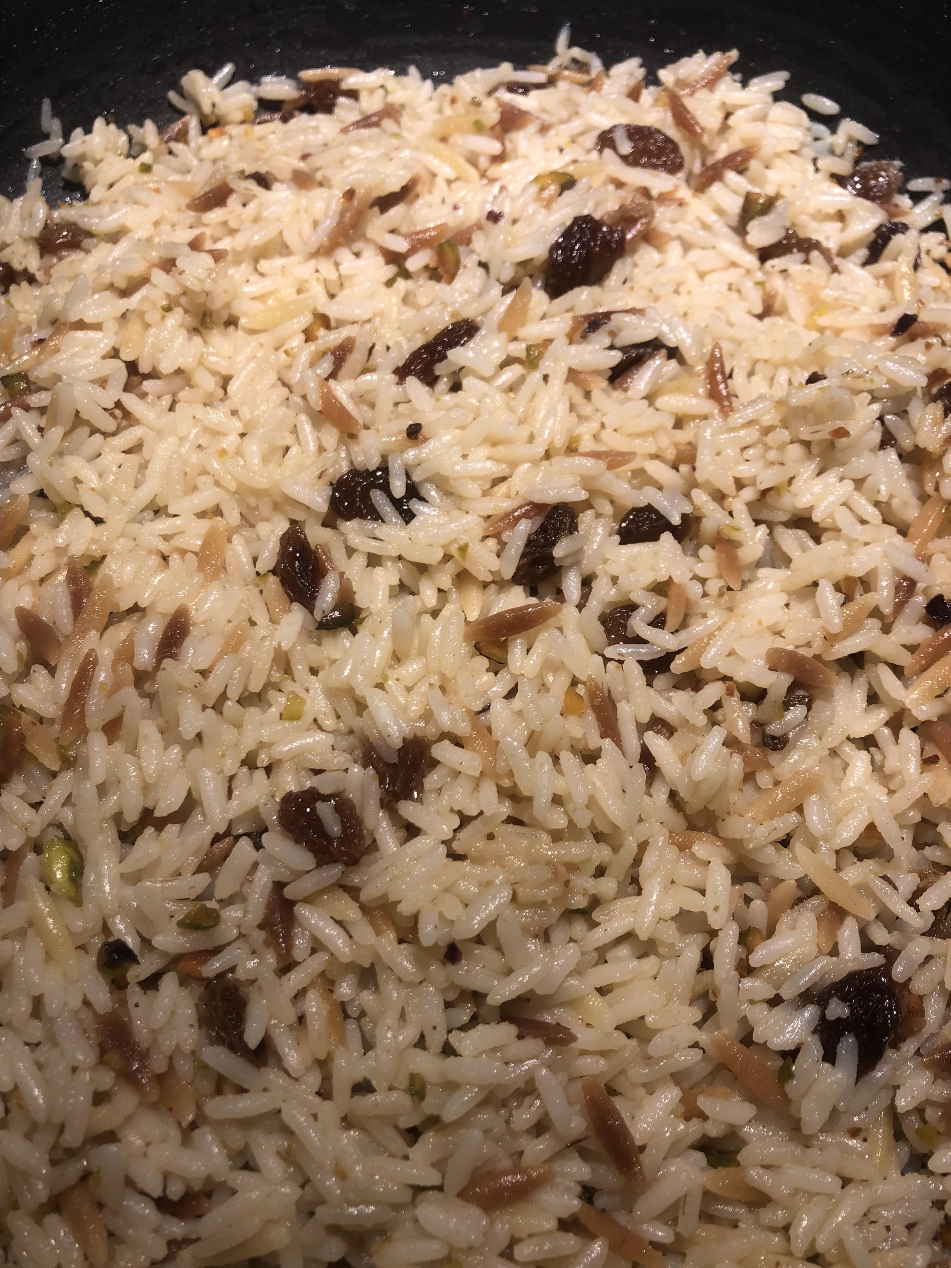 Lebanese Restaurant Rice Pilaf Dee