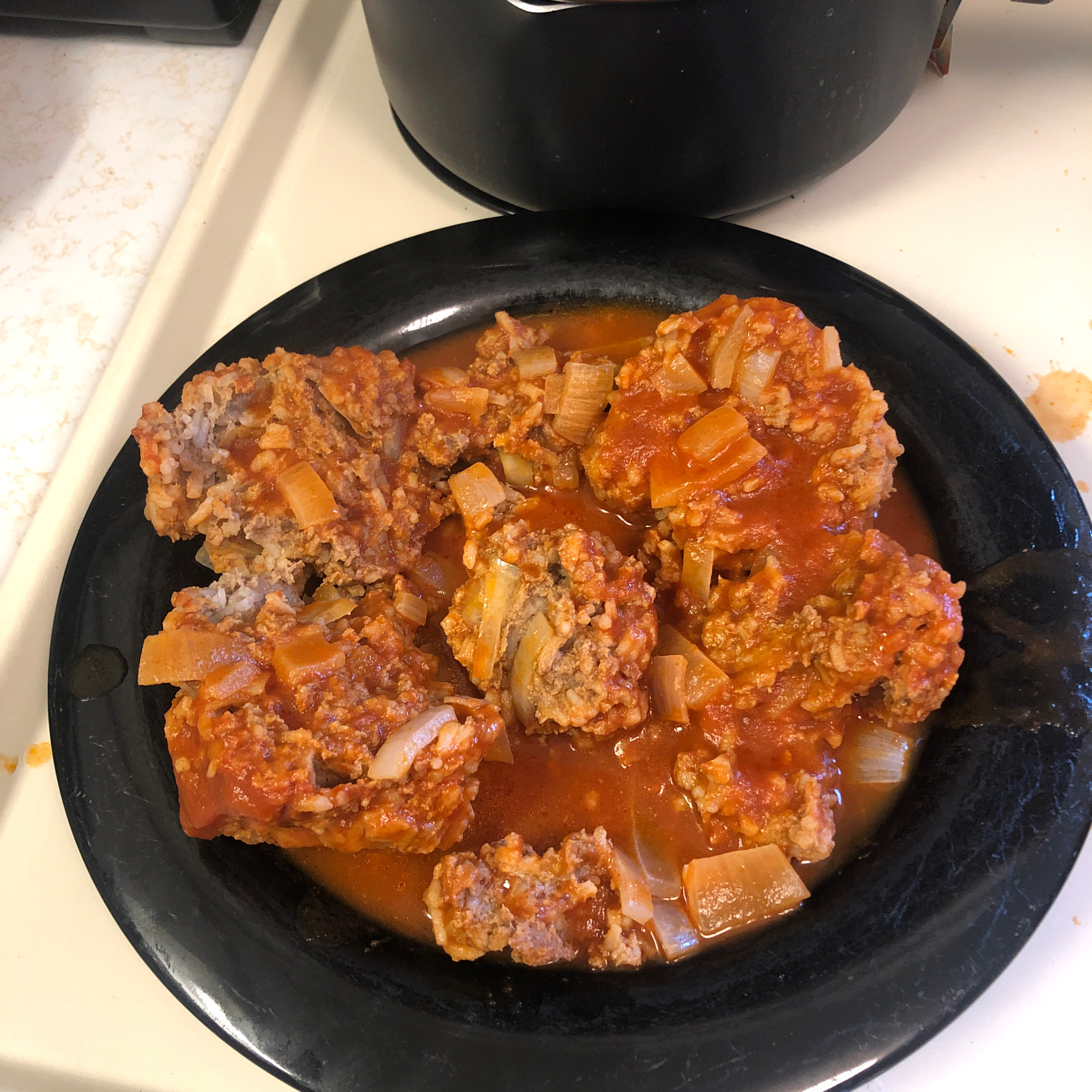 Porcupine Meatballs in Tomato Sauce Ethan Aaron Wymer