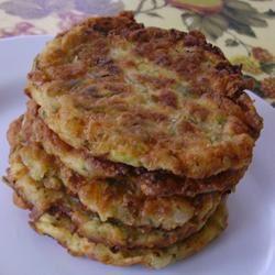 Zucchini and Feta Cheese Fritters (Kolokithokeftedes) Christina