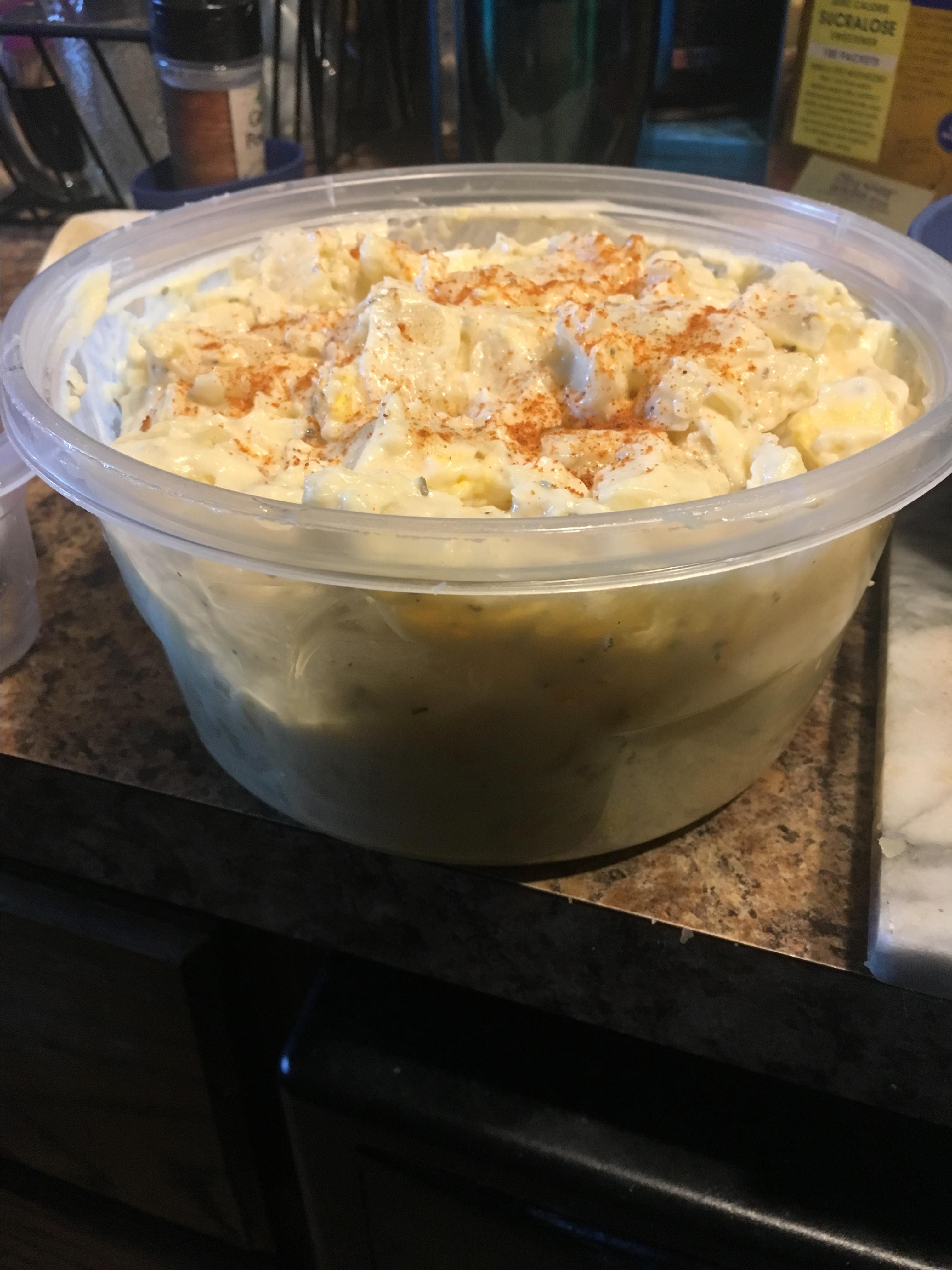 Creamy, Lemony Potato Salad