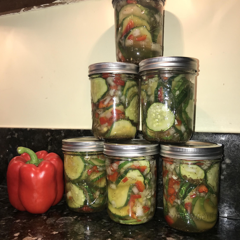 Aunt Rose's Refrigerator Pickles Bozarjian