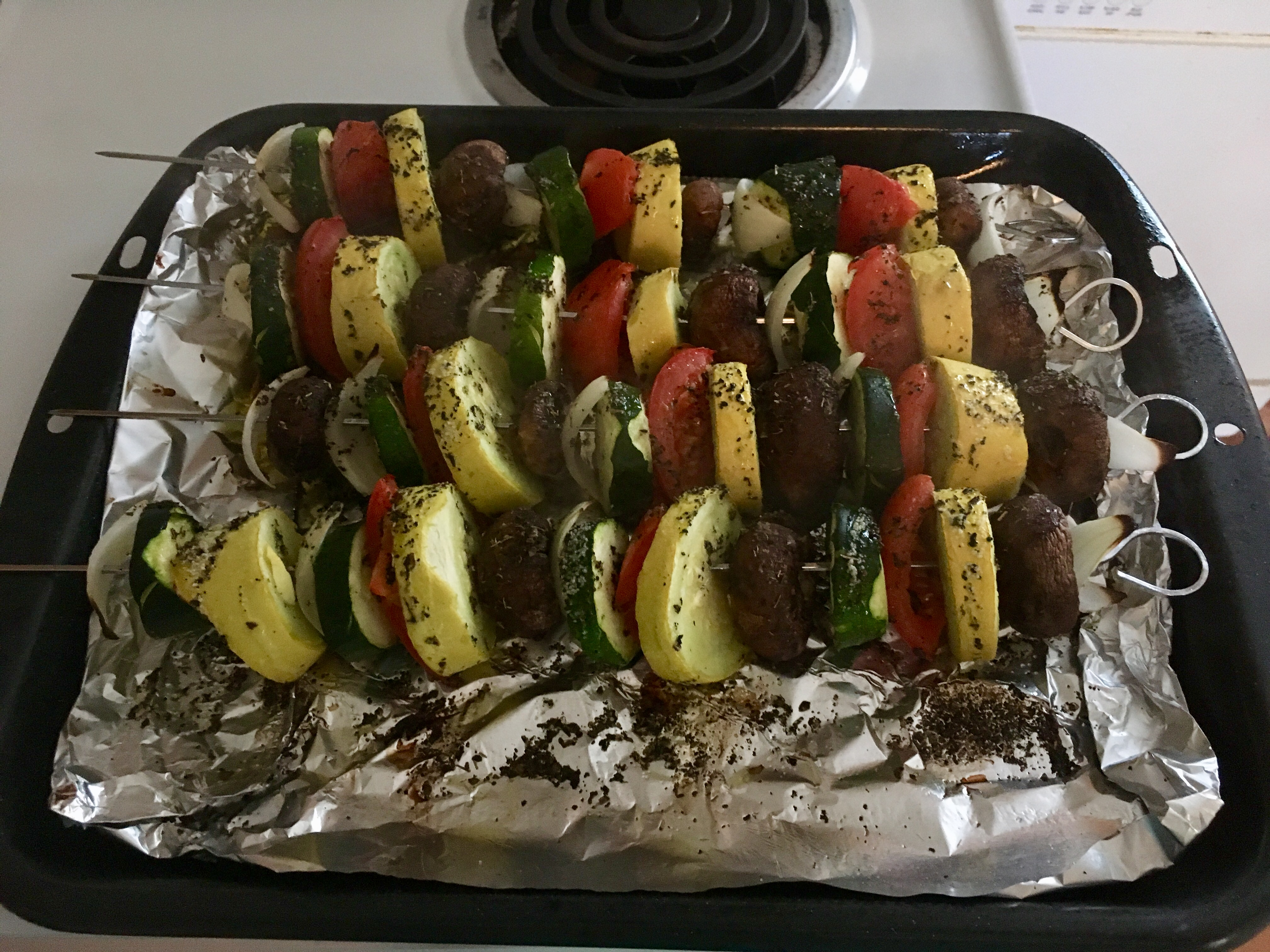 Grilled Veggie Skewers superdaph00