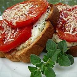 mamas best broiled tomato sandwich recipe