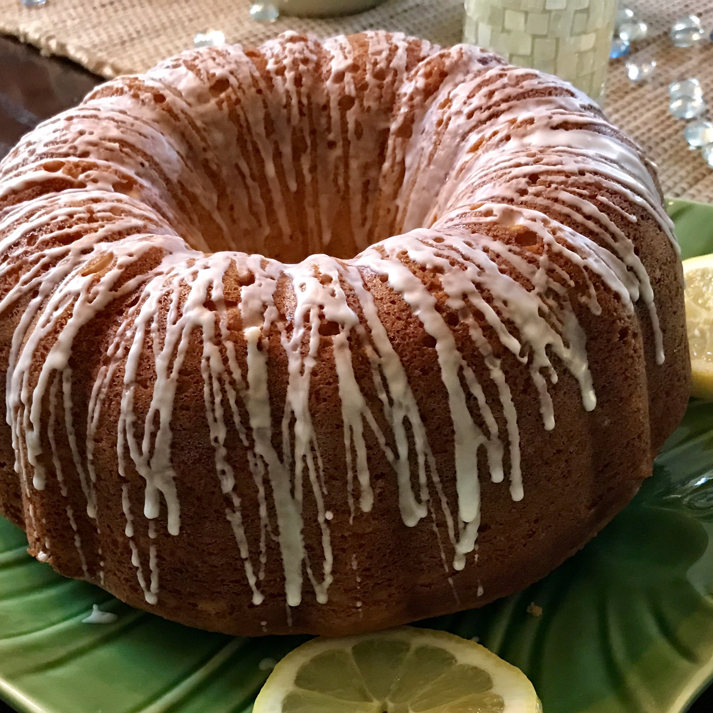 Quick and Easy Summer Limoncello Cake kyl
